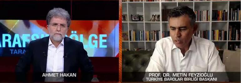 Türkiye Barolar Birliği Başkanı Prof. Dr. Feyzioğlundan CNN TÜRKte flaş açıklamalar