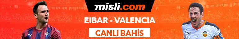 Eibar - Valencia maçıTek Maç ve Canlı Bahis seçenekleriyle Misli.com'da