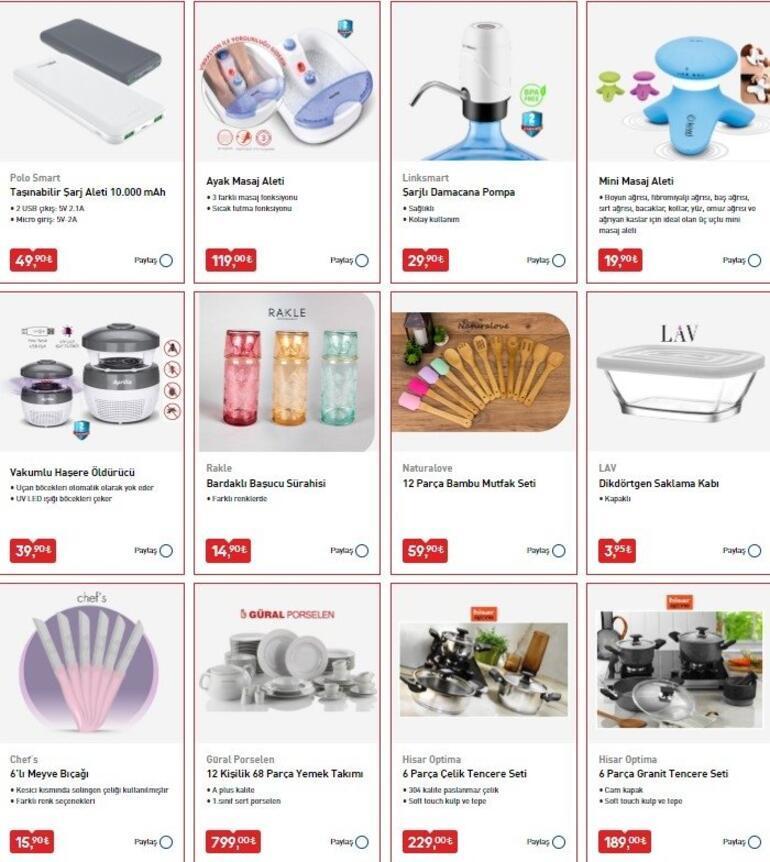 BİM aktüel ürünler kataloğunda yer alan ürünler satışa çıkıyor BİM 26 Haziran aktüel ürünler kataloğu