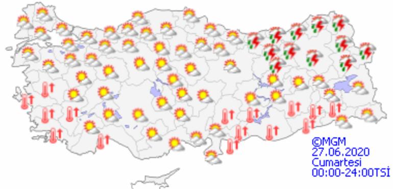 İstanbulda bugün hava durumu nasıl olacak Hangi bölgelerde yağış bekleniyor