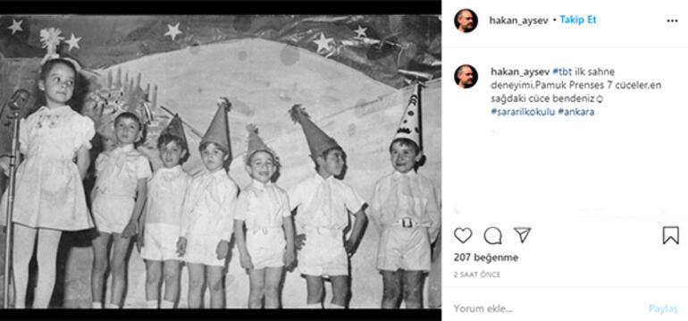 Hakan Aysev: En sağdaki cüce bendeniz