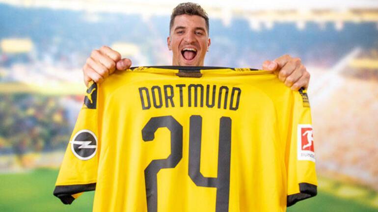 Son dakika transfer haberleri - Borussia Dortmund, Thomas Meunieri resmen açıkladı