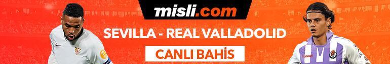 Sevilla - Real Valladolid maçı Tek Maç ve Canlı Bahis seçenekleriyle Misli.com'da