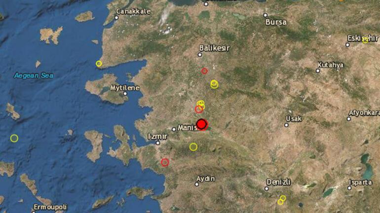 Son dakika deprem haberleri: Ege sallandı İstanbul, İzmir ve Manisadan hissedildi