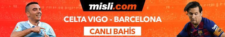 Celta Vigo - Barcelona maçı Tek Maç ve Canlı Bahis seçenekleriyle Misli.com'da