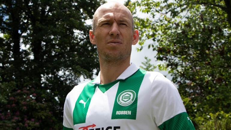 Son dakika | Arjen Robben futbola geri döndü Formayı giydi...
