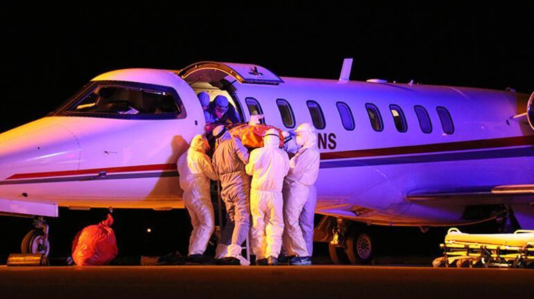 Corona virüs hastası Türkler, Rusyadan yurda getirildi