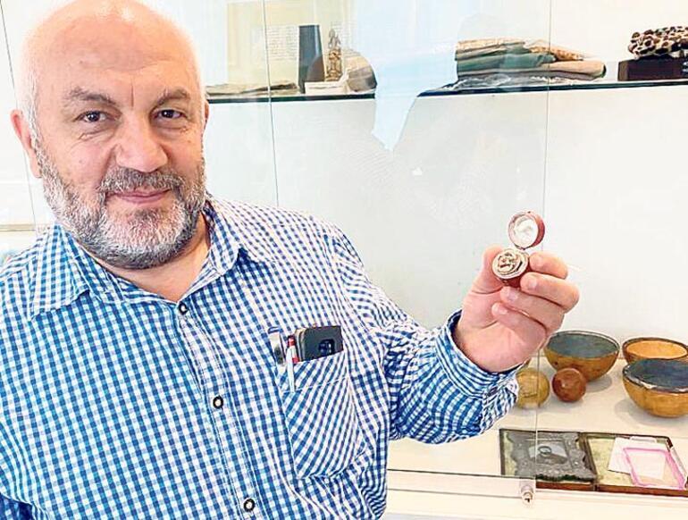 Kızıl Sakal'ın aşkını kanıtlayan yüzük 9 bin 500 Euro'ya yeni sahibinde
