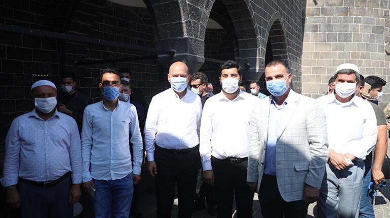 Bakan Soylu, Diyarbakırın tarihi mekanlarını gezdi
