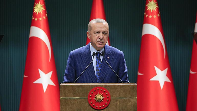 Cumhurbaşkanı Erdoğan alınan önemli kararları tek tek açıkladı