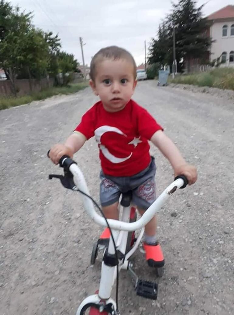 Kayseride 3 yaşındaki Alpereni öldüren zanlı, su kuyusunda yakalandı