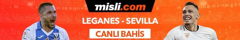 Leganes - Sevilla maçı canlı bahis heyecanı Misli.comda