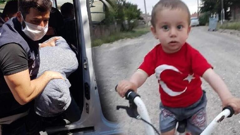 Son dakika... Kayseride 3 yaşındaki Alperenin katili tutuklandı