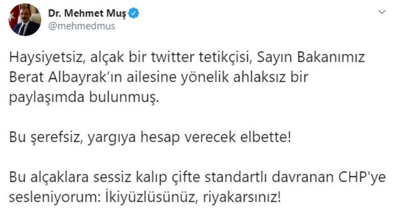 AK Partili Muştan sert tepki: İkiyüzlüsünüz, riyakarsınız