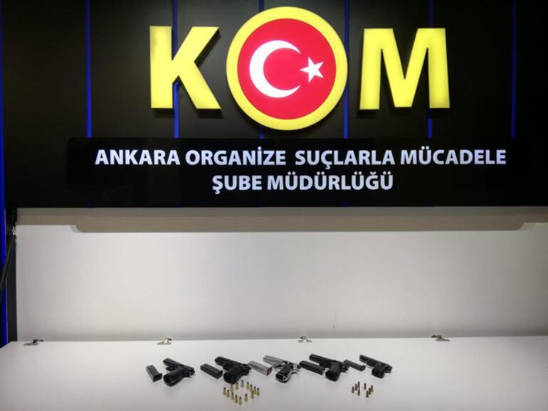 Ankarada kaçakçılık operasyonu Bebek mumyası ele geçirildi