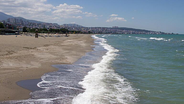 Samsunda mavi bayraklı plaj sayısı 13e yükseldi
