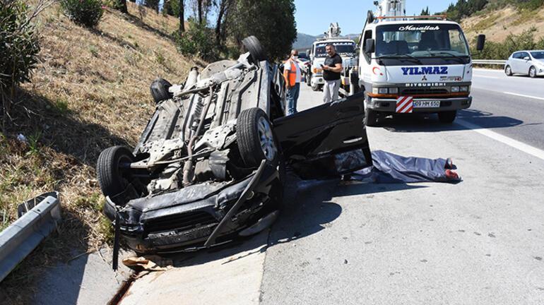 Aydında trafik kazası: 1 kişi öldü, 2 kişi yaralandı