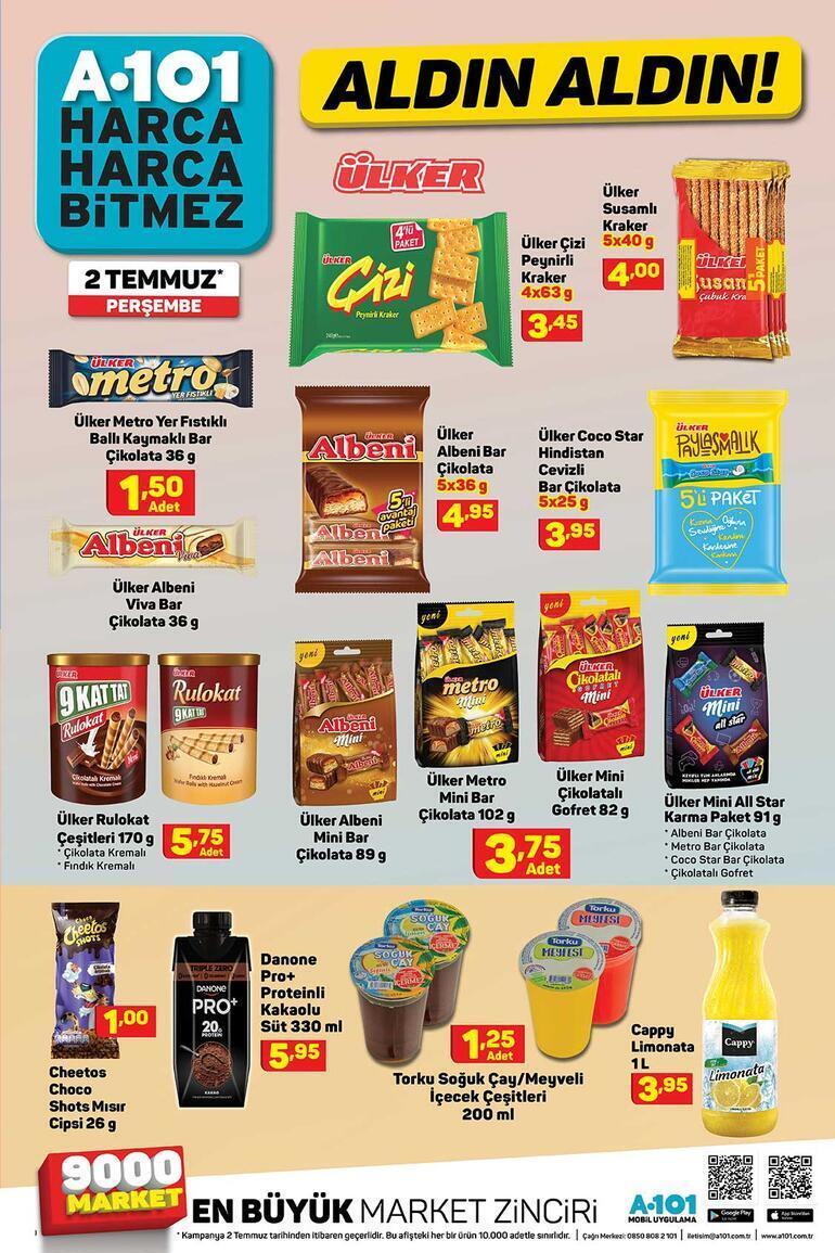 A101 aktüel ürünler kataloğunda bu hafta neler var 2 Temmuz A101 indirimli ürünler kataloğu...
