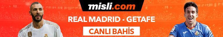 Real Madrid - Getafe maçı Tek Maç ve Canlı Bahis seçenekleriyle Misli.com'da