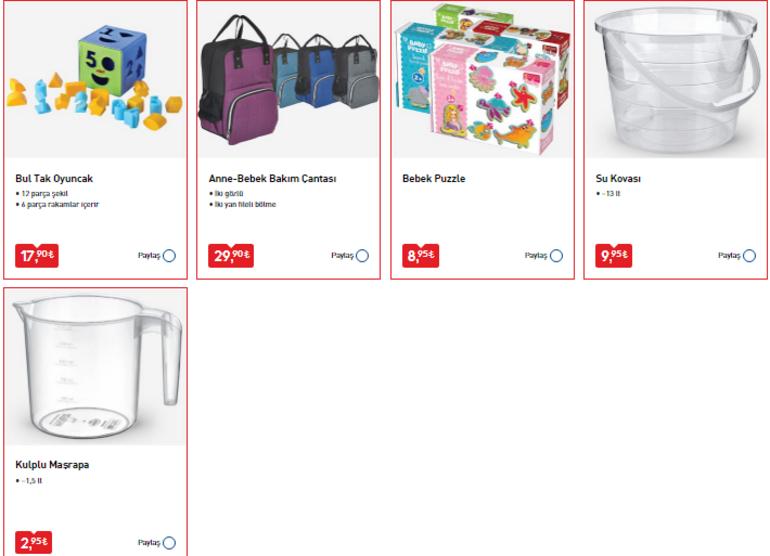 3 Temmuz BİM aktüel ürünler kataloğu BİM aktüel ürünler kataloğunda yer alan ürünler raflarda yerini aldı