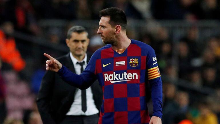 Barcelonada tarihi ayrılık kapıda Messi kontratın bitiminde...