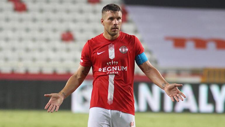 Podolski, Trabzonspor maçında yok