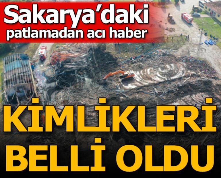 Sakaryada havai fişek fabrikasındaki patlamada flaş gelişme Gözaltı sayısı 4e çıktı