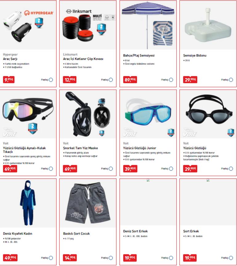 BİM mağazaları saat kaçta açılıyor/kapanıyor BİM 10 Temmuz aktüel ürünler kataloğunda yer alan ürünler satışa çıkıyor