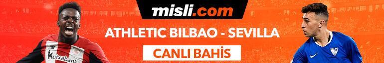 Athletic Bilbao - Sevilla maçı Tek Maç ve Canlı Bahis seçenekleriyle Misli.com'da