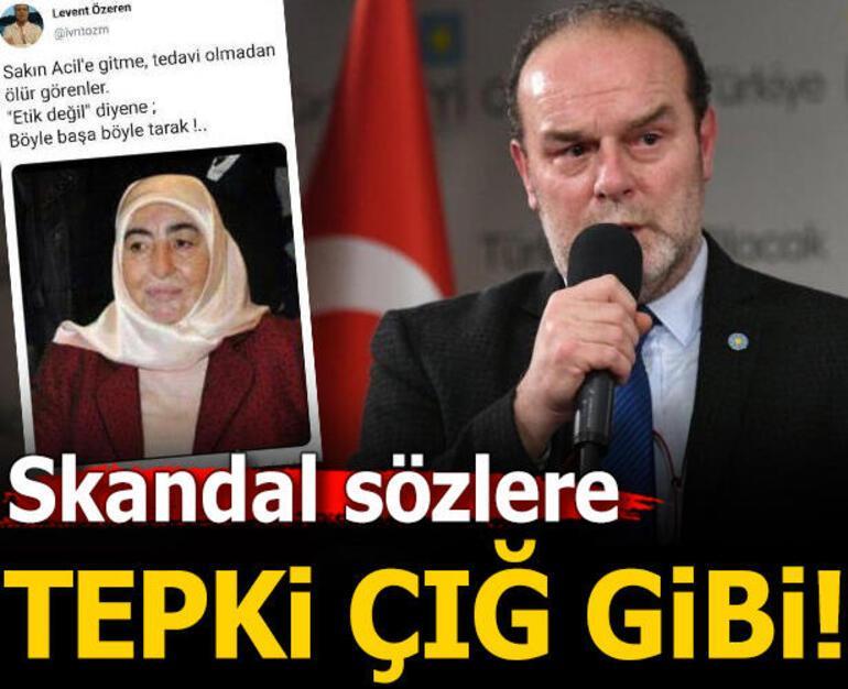 Skandal sözlerine tepki yağmıştı Levent Özeren gözaltına alındı