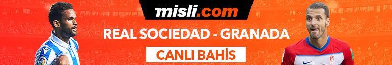 Real Sociedad - Granada maçıTek Maç ve Canlı Bahis seçenekleriyle Misli.com'da