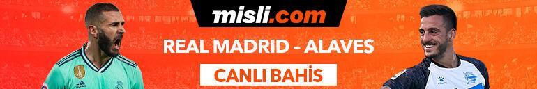 Real Madrid - Alaves maçıTek Maç ve Canlı Bahis seçenekleriyle Misli.com'da