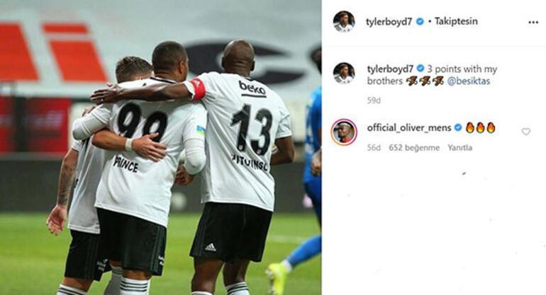 Transfer haberleri | Mensahdan Beşiktaş paylaşımına yorum