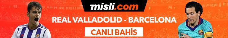 Real Valladolid - Barcelona maçıTek Maç ve Canlı Bahis seçenekleriyle Misli.com'da