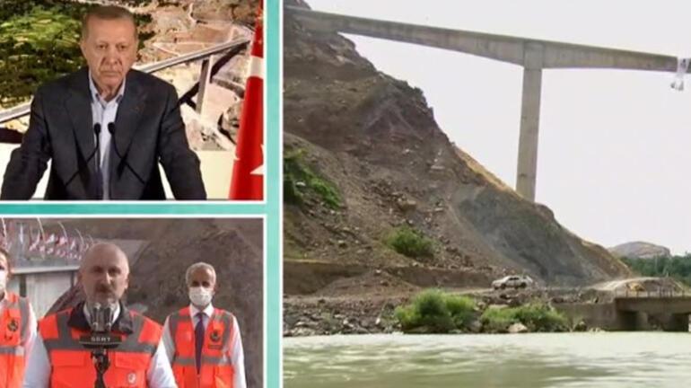 Son dakika: Türkiyenin en yüksek köprüsü açıldı İşte Botan Çayı Beğendik Köprüsü...