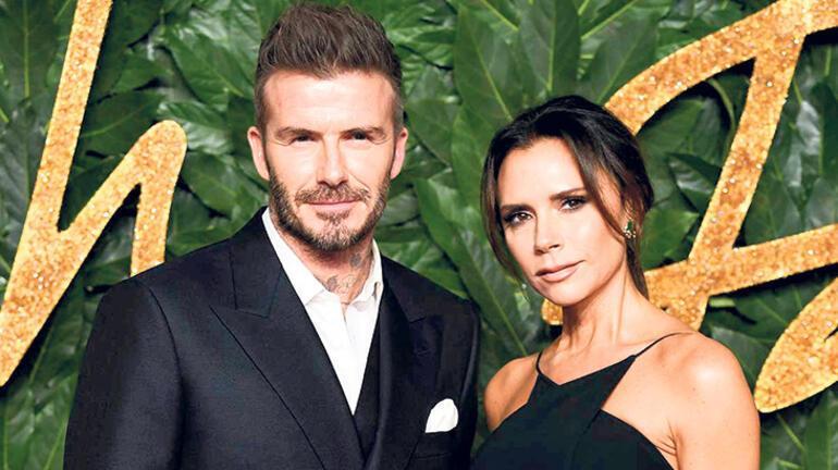 Beckham ailesini geçti