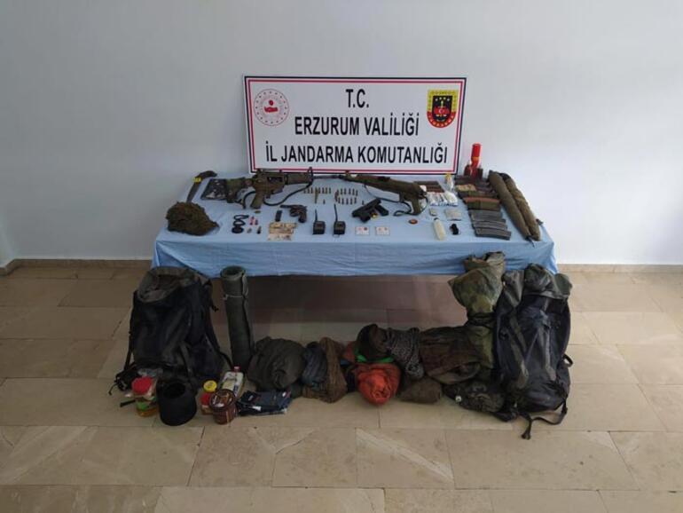 Gri listedeki terörist Erzurumda sağ olarak yakalandı