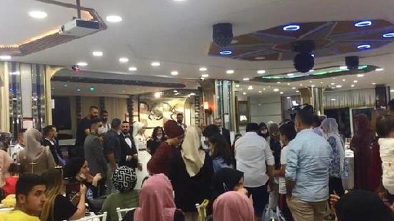 İstanbulda sokak eğlencesinde, düğün salonunda sosyal mesafe hiçe sayıldı