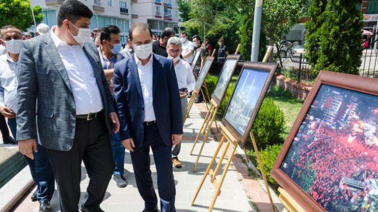 Kahramankazanda 15 Temmuz Demokrasi ve Milli Birlik Günü etkinlikleri başladı