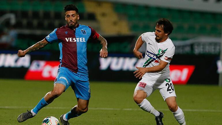 Son dakika | Trabzonsporda Sosa şoku