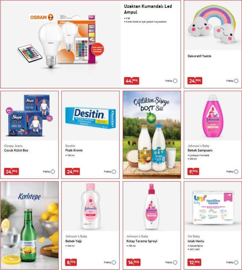 BİM aktüel ürünler kataloğu bugün satışa sunuldu BİM saat kaçta kapanıyor