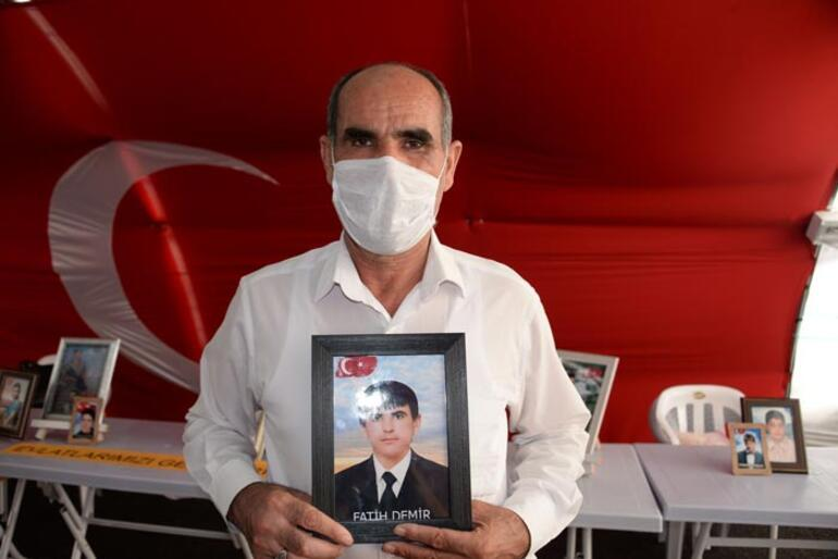 Evlat nöbetindeki ailelerden 15 Temmuz mesajı: Ülkeyi FETÖ ve PKKya yar etmeyeceğiz