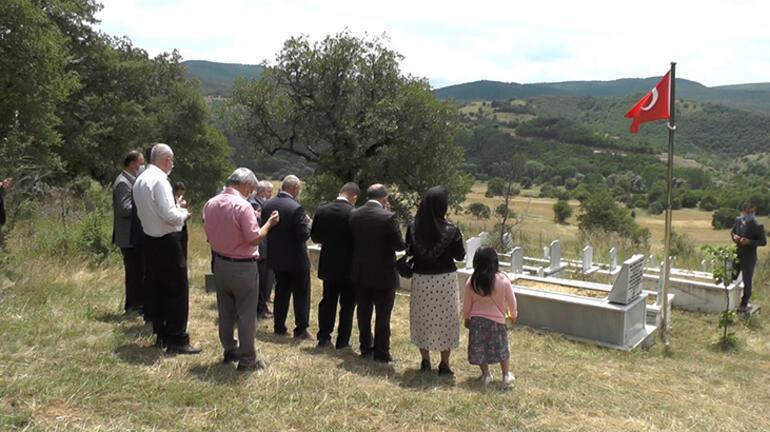 15 Temmuz şehidi Barış Efe, mezarı başında anıldı