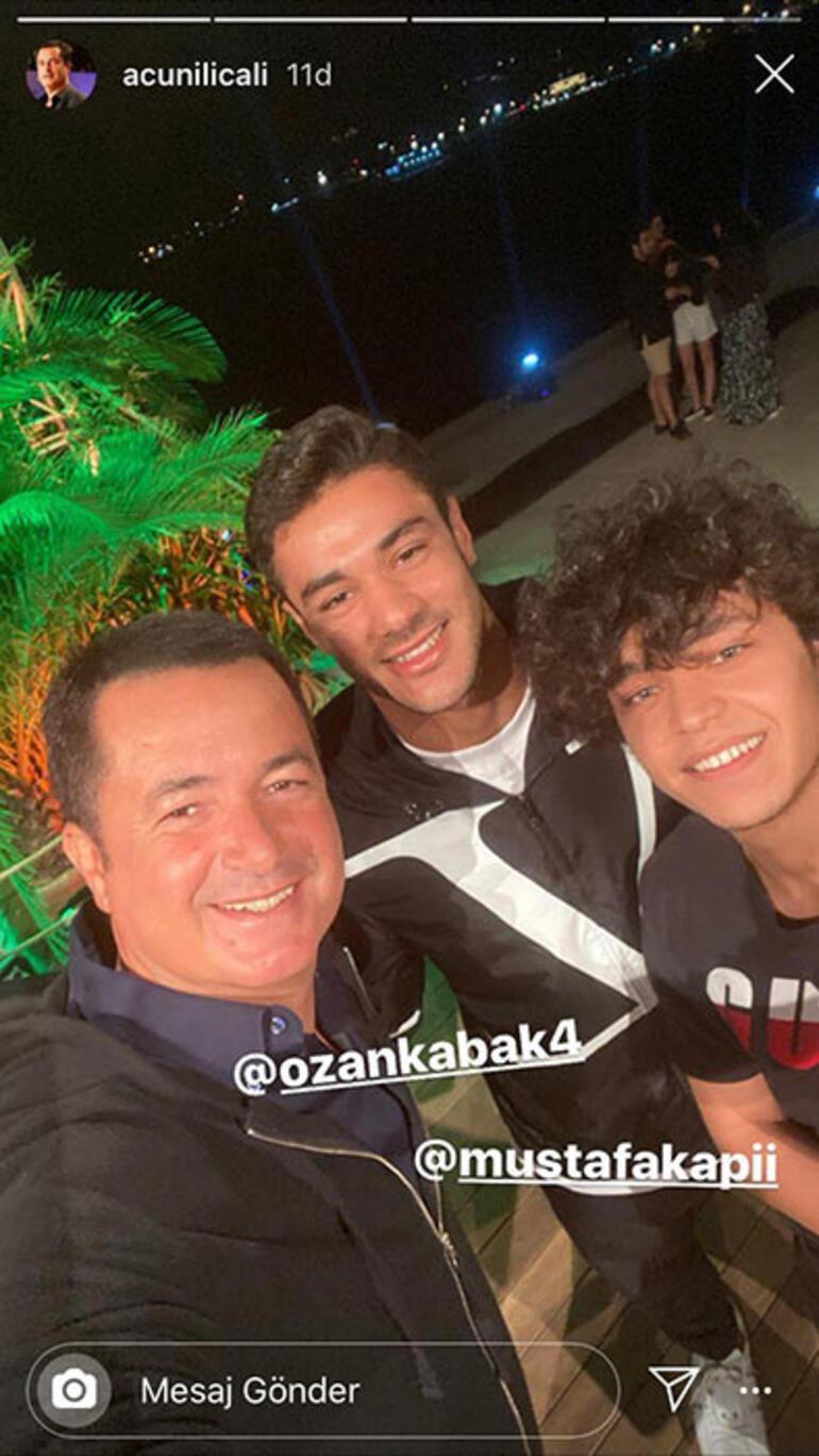 Acun Ilıcalıdan Ozan Kabak ve Mustafa Kapı paylaşımı