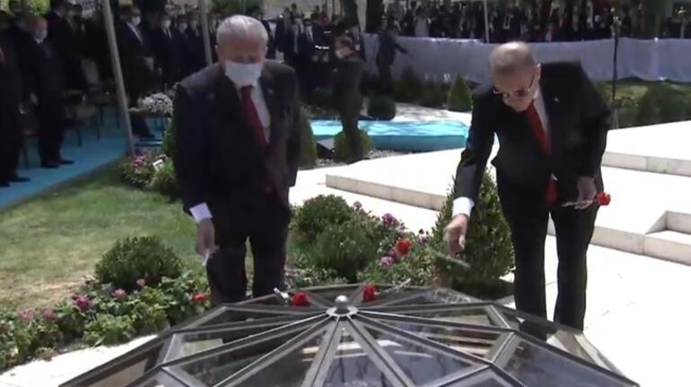 15 Temmuz şehitleri anılıyor Cumhurbaşkanı Erdoğan Gazi Mecliste