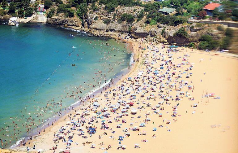İstanbul'da plaja gitmek