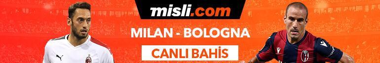 Milan - Bologna maçı canlı bahis heyecanı Misli.comda