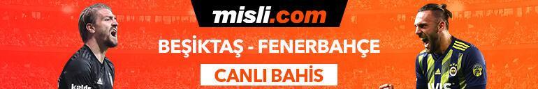 Beşiktaş - Fenerbahçe derbisi Tek Maç ve Canlı Bahis seçenekleriyle Misli.com'da