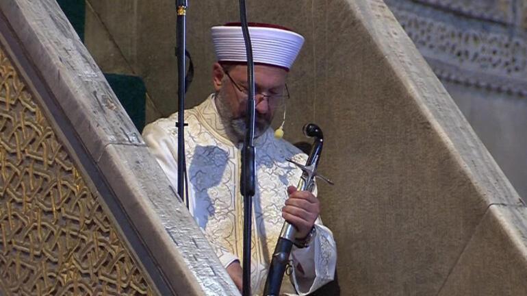 Son dakika... Ayasofya Camiinde tarihi gün 86 yıl sonra ilk namaz...