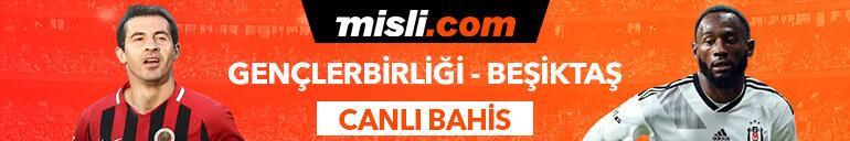 Gençlerbirliği-Beşiktaş maçı Tek Maç ve Canlı Bahis seçenekleriyle Misli.com'da